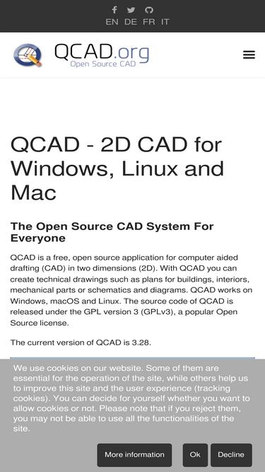 Qcad org Analytics - Market Share Stats & Traffic Ranking