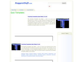 quiz-templates.suggestsoft.com