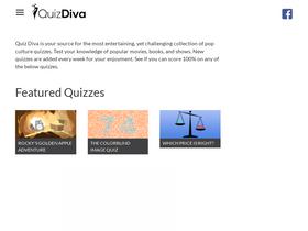 Quizdiva net Analytics - Market Share Stats & Traffic Ranking