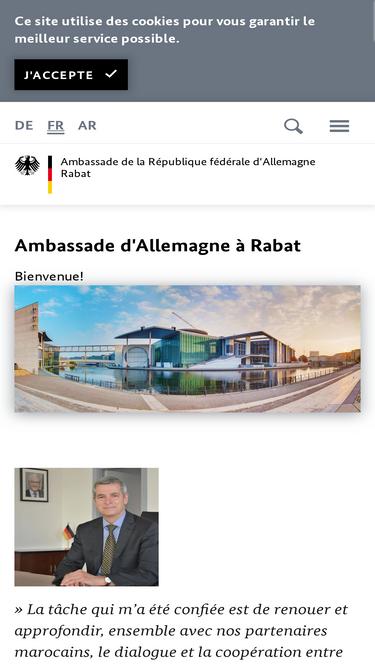 In visum rabat konsulat deutsche Botschaft (Austrian