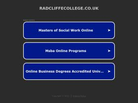 radcliffecollege.co.uk
