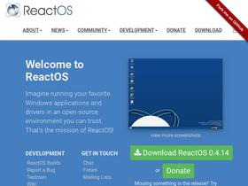 Reactos org Analytics - Market Share Stats & Traffic Ranking