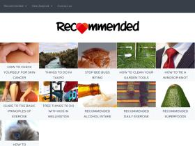 recommended.co.nz