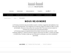 recrutement.printemps.com