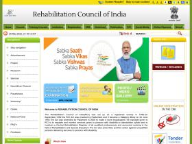rehabcouncil.nic.in