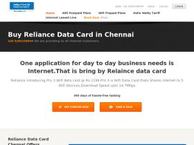 reliancedatacardchennai.co.in