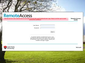 remote.leedstrinity.ac.uk