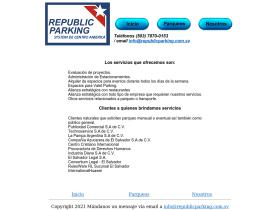 republicparking.com.sv