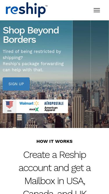 Reship com Analytics - Market Share Stats & Traffic Ranking