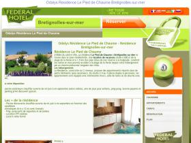 residence-pied-chaume-bretignolles-sur-mer.federal-hotel.com
