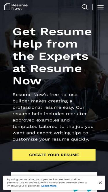 Resume Now Analytics