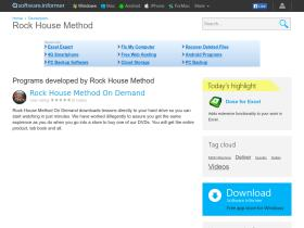 rock-house-method.software.informer.com