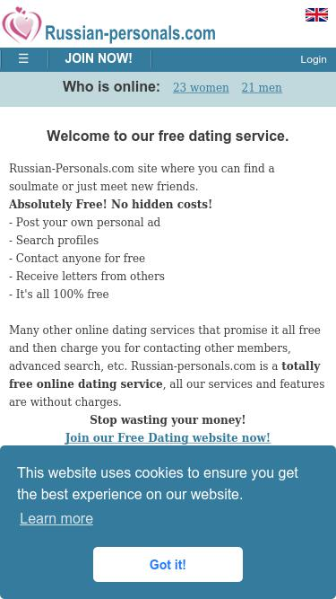 russian personals