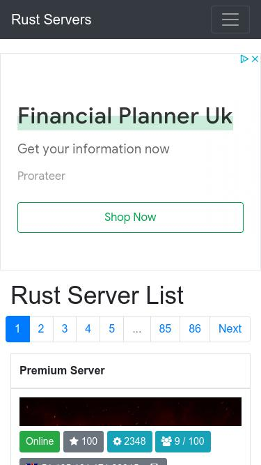 Rust-servers net Analytics - Market Share Stats & Traffic