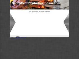 safetysecurityandterrorism.com
