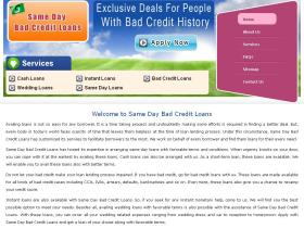 samedaybadcreditloans.co.uk
