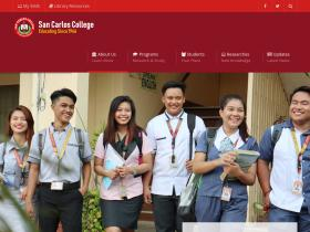 sancarloscollege.edu.ph