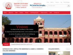 sankhedacollege.co.in