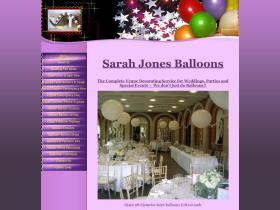 sarahjonesballoons.co.uk
