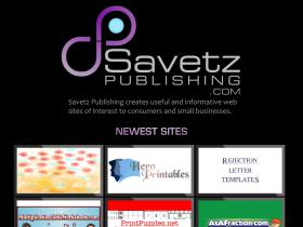 savetzpublishing.com