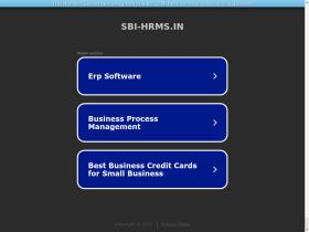 sbi-hrms.in