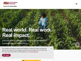 schoolofsustainability.asu.edu