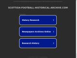 scottish-football-historical-archive.com