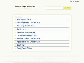 secure.siscalcard.com.br