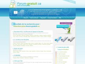 selection-plus.forum-gratuit.ca