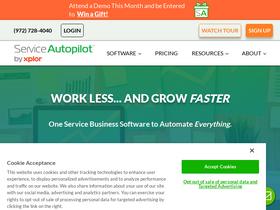 Serviceautopilot com Analytics - Market Share Stats
