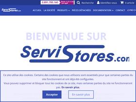 Servistores Com Analytics Market Share Data Ranking Similarweb