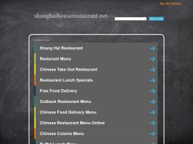 shanghaihouserestaurant.net