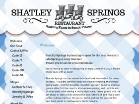 shatleysprings.com