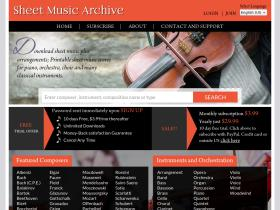 sheetmusicarchive.net