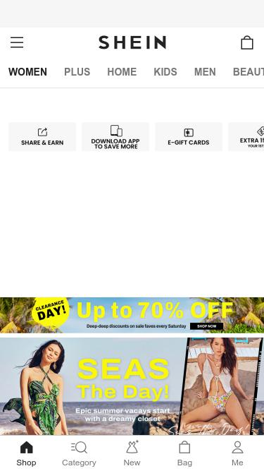 4253f2feff Shein.com Analytics - Market Share Stats & Traffic Ranking