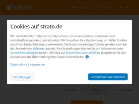 Shop.strato.de Analytics - Market Share Stats   Traffic Ranking e82d506299