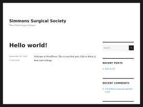 simmonssurgicalsociety.org