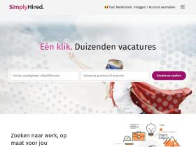 simplyhired.be