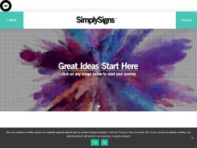 simplysignswebsites.co.uk