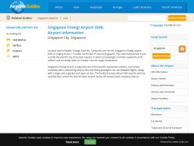 singapore-sin.airports-guides.com