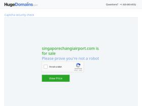 singaporechangiairport.com