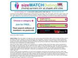 sizematchdating.co.uk