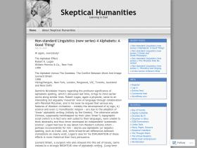 skepticalhumanities.com