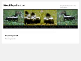 skunkrepellent.net