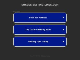 soccer-betting-lines.com