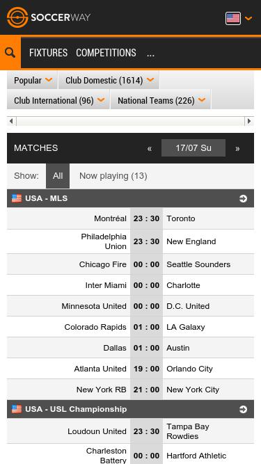 Soccerway com Analytics - Market Share Stats & Traffic Ranking