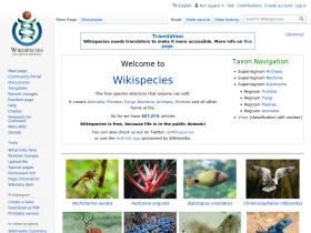 species.wikipedia.org