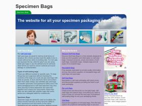 specimenbags.co.uk