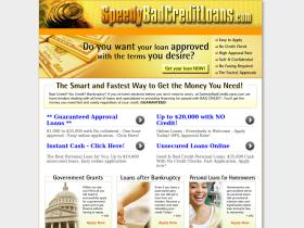 speedybadcreditloans.com