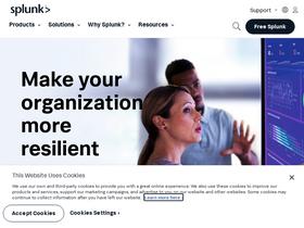 Splunk com Analytics - Market Share Stats & Traffic Ranking